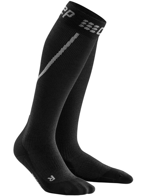 cep Winter Run Socks Men grey/black